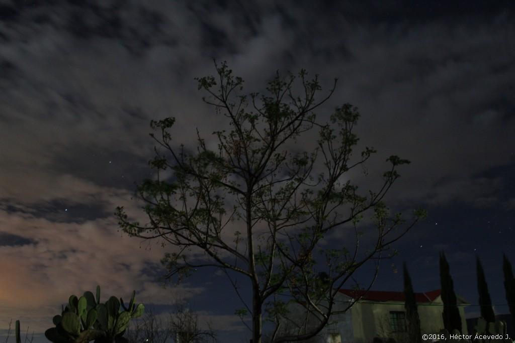 Cielo nocturno en Chilcuautla 3