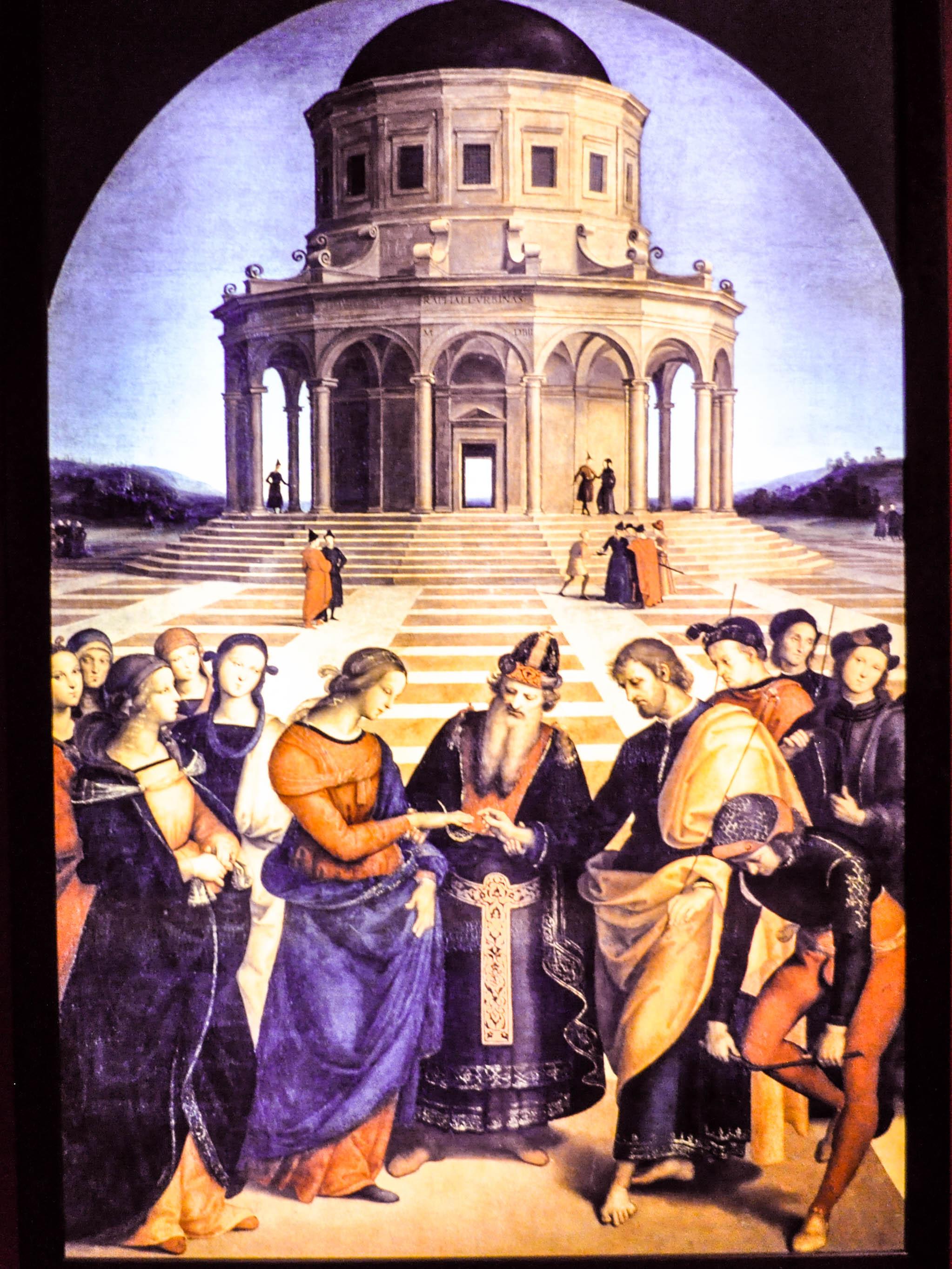 Los desposorios de la Virgen Rafael - Wikipedia, la