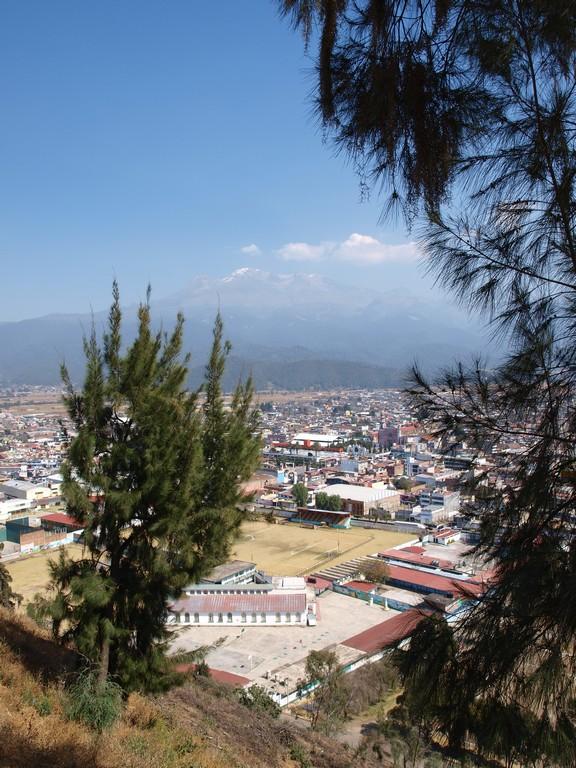 El Iztaccíhuatl desde el Santuario del Señor del Sacromonte -1