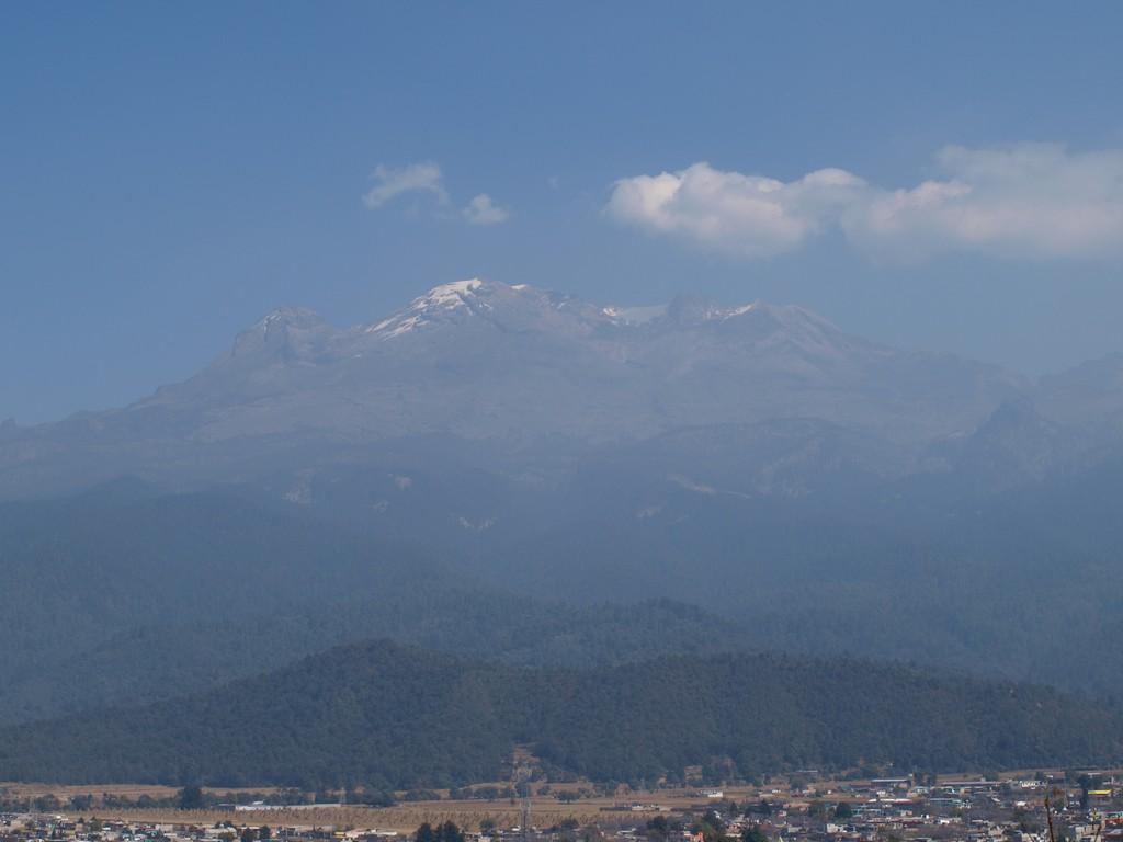 El Iztaccíhuatl desde el Santuario del Señor del Sacromonte -2