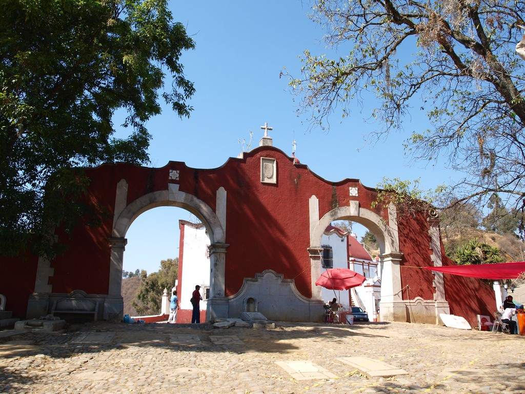 Entrada del Santuario del Señor del Sacromonte -1