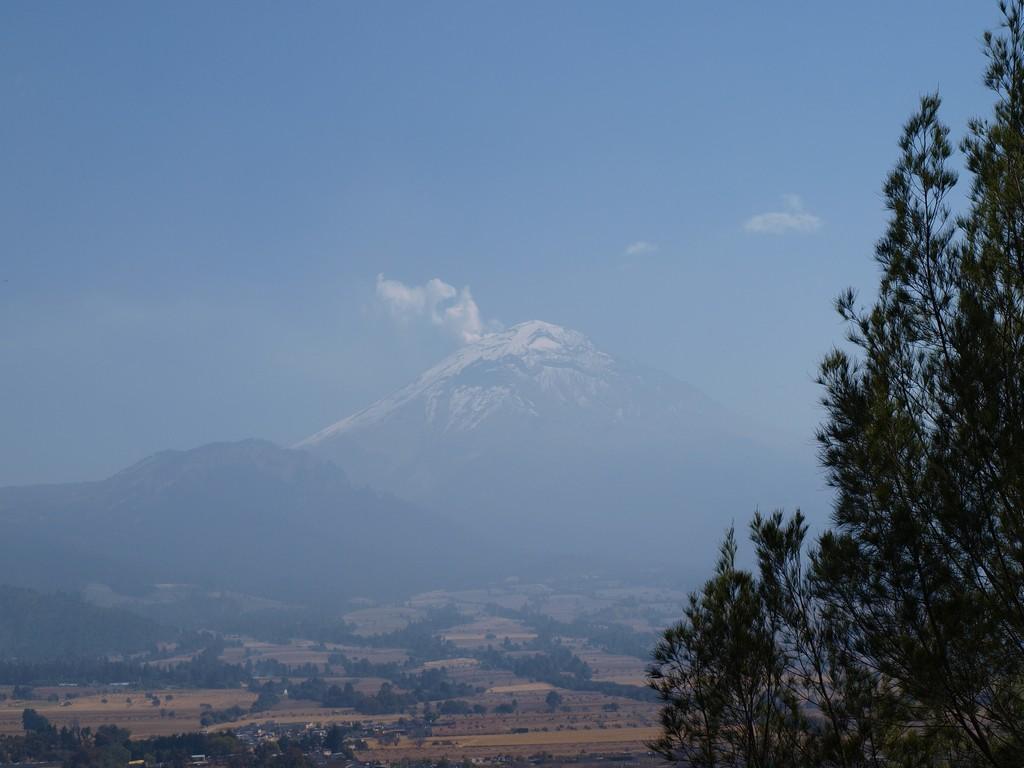 El Popocatepetl desde el Santuario del Señor del Sacromonte -1