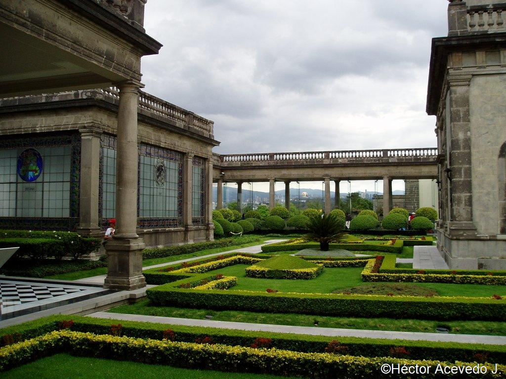Jardines del Castillo de Chapultepec - 1
