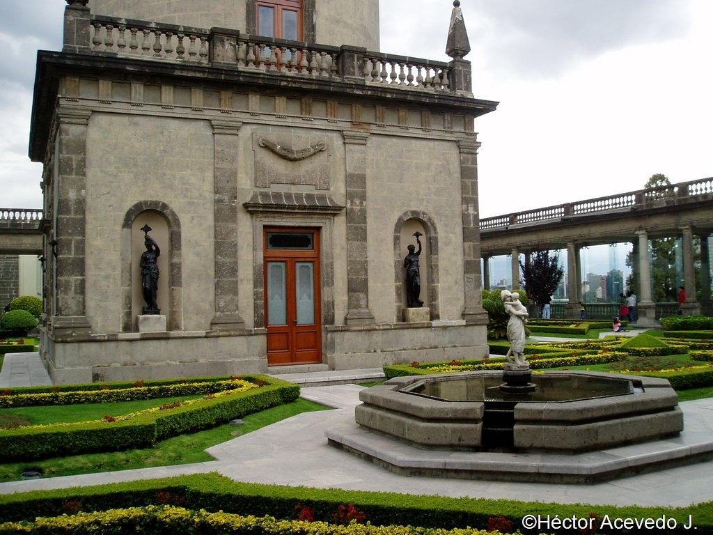 Jardines del Castillo de Chapultepec - 2
