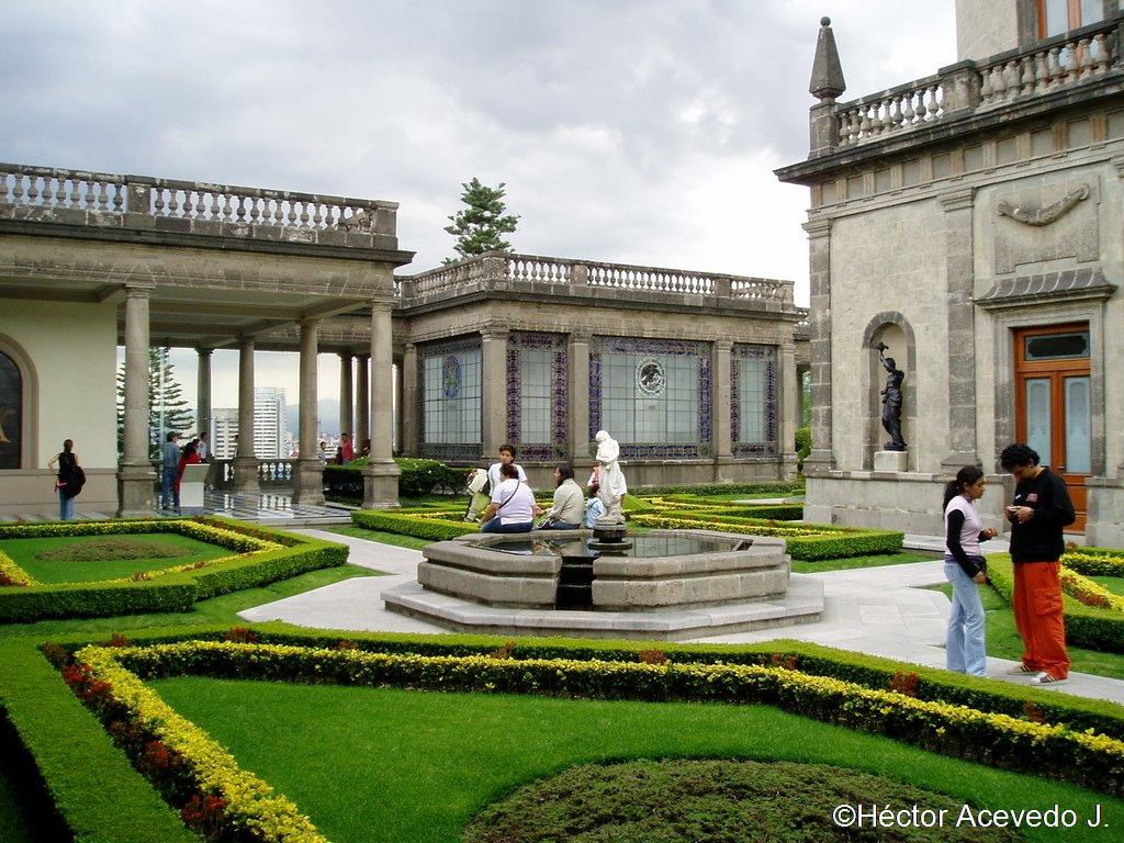 Jardines del Castillo de Chapultepec - 3