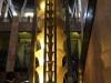Lámpara en la escalera principal del Palacio de Bellas  Artes